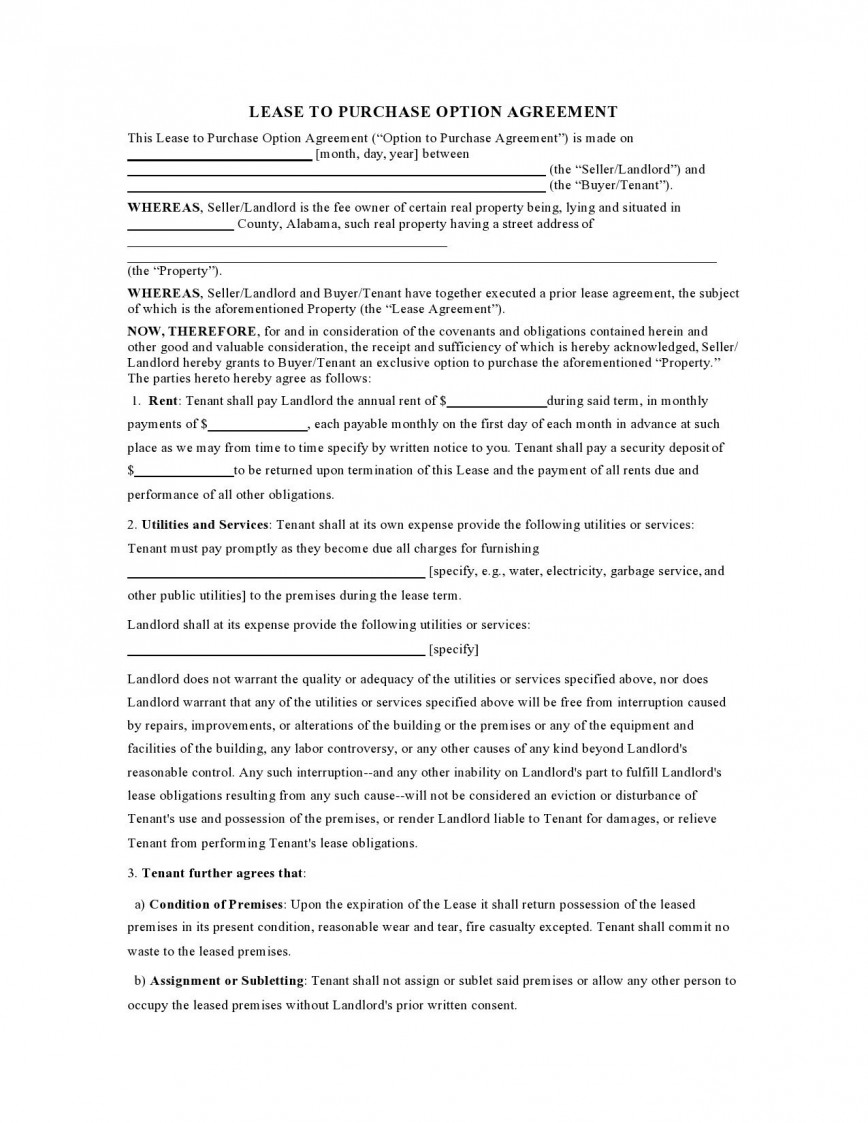004 Magnificent Rent To Own Lease Template High Def  Contract Form Pdf