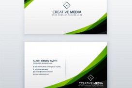 004 Magnificent Simple Visiting Card Design Highest Quality  Calling Busines Template Free In Photoshop