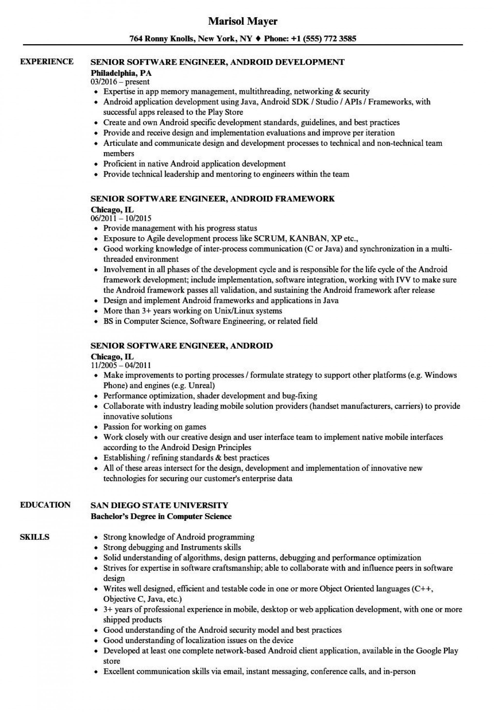 004 Magnificent Software Engineer Resume Template Inspiration  Word Format Free Download Microsoft1920