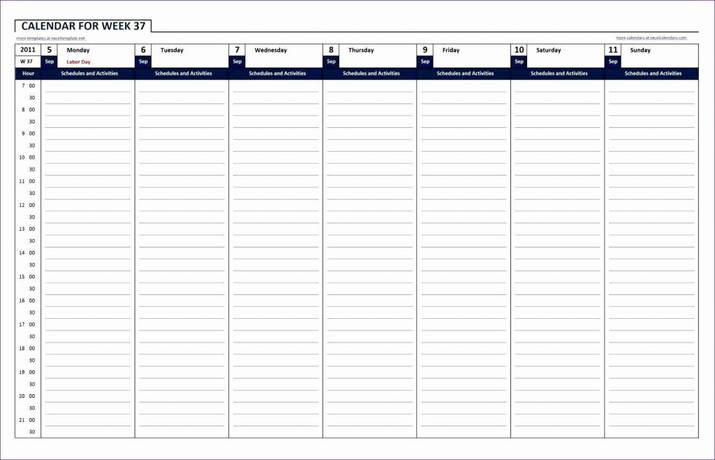 004 Marvelou 24 Hour Work Schedule Template High Definition  7 DayLarge