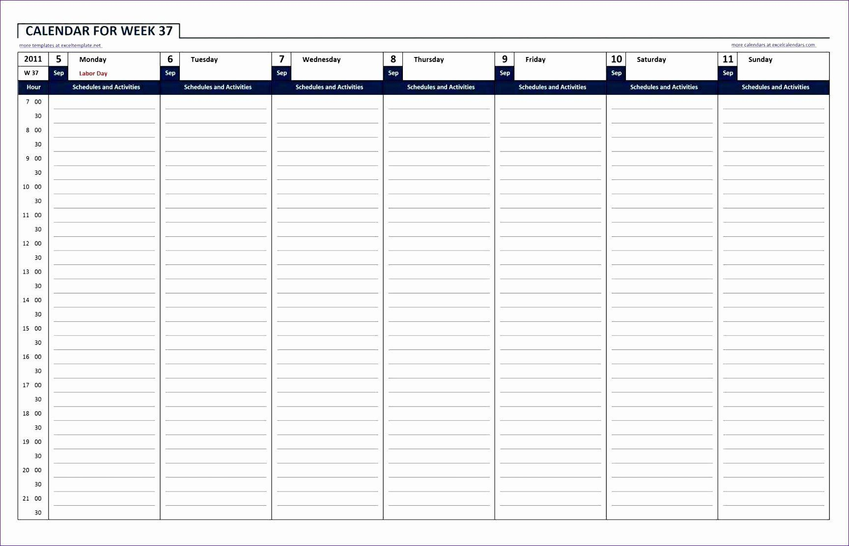 004 Marvelou 24 Hour Work Schedule Template High Definition  7 DayFull