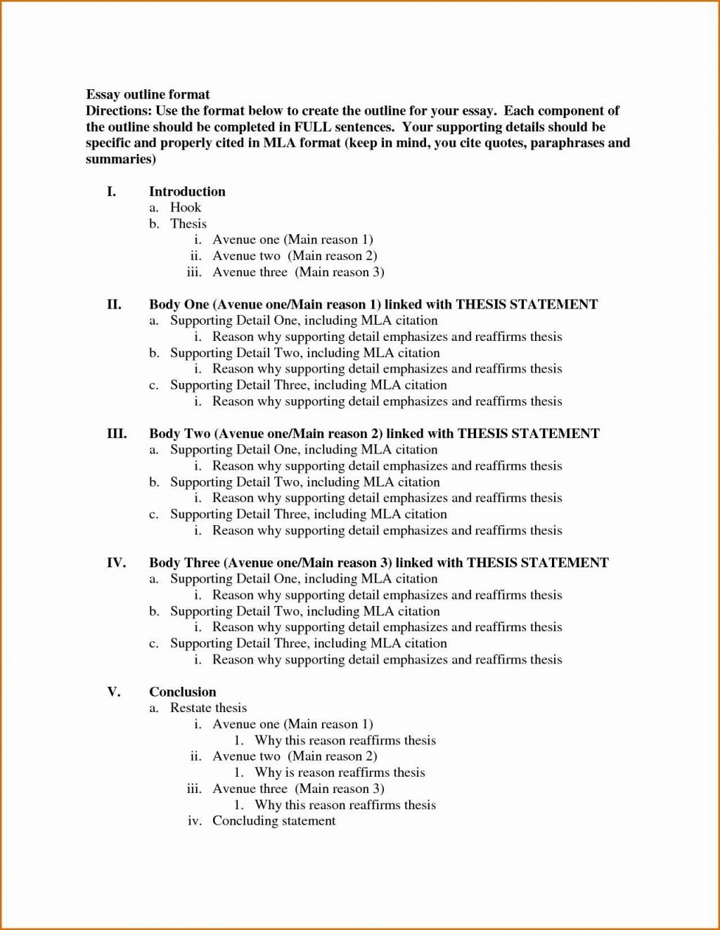 004 Marvelou Argumentative Essay Outline Template Idea  Mla Format Doc Middle SchoolLarge