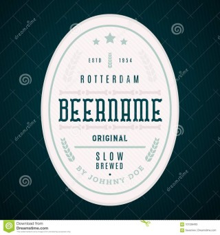 004 Marvelou Beer Label Design Template Highest Quality  Free320