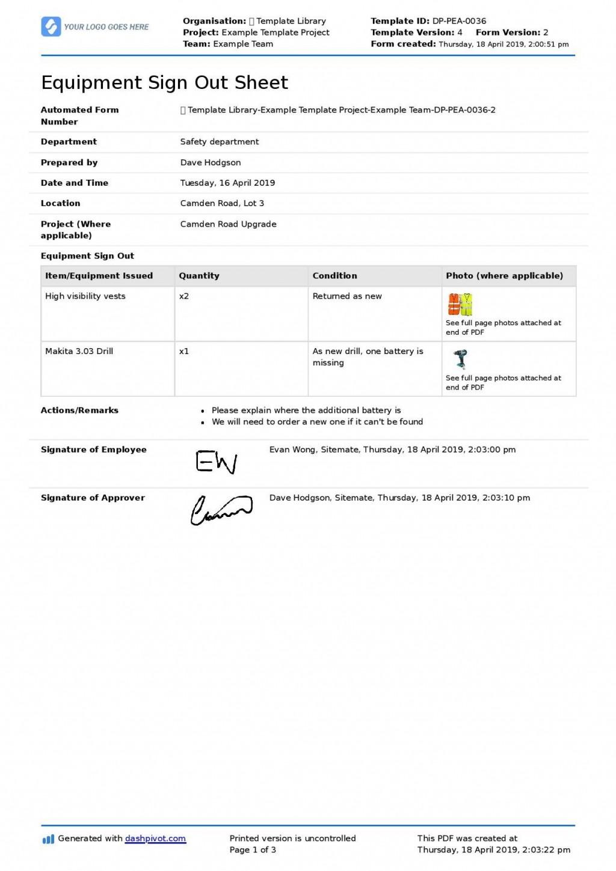 004 Marvelou Equipment Sign Out Sheet Template Idea  Pdf Free PrintableLarge