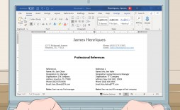 004 Marvelou List Of Reference Example For Resume Sample  Template