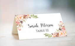 004 Marvelou Name Place Card Template Highest Quality  Word Free Microsoft