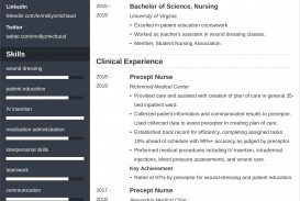 004 Marvelou New Grad Nursing Resume Template Highest Quality  Graduate Nurse Practitioner