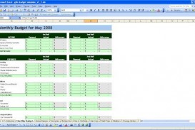 004 Marvelou Personal Budget Spreadsheet Template For Mac Idea