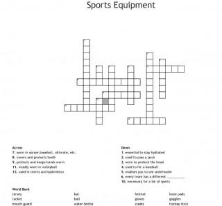 004 Marvelou Racket Crossword Clue Design  5 Letter Tenni String 7 3320