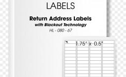 004 Marvelou Return Addres Label Template Sample  Google Doc Avery 80 Per Sheet Word Free