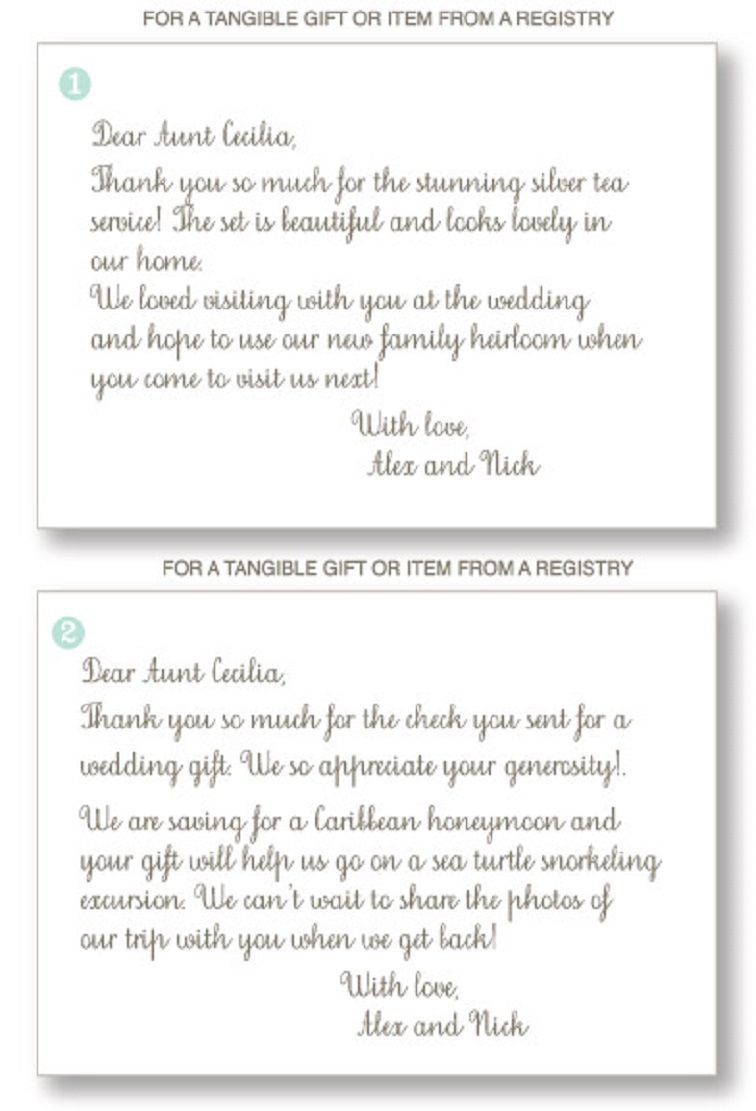 004 Marvelou Thank You Note Format Wedding Highest Quality  Example Card Wording Not Attending Sample For GiftFull