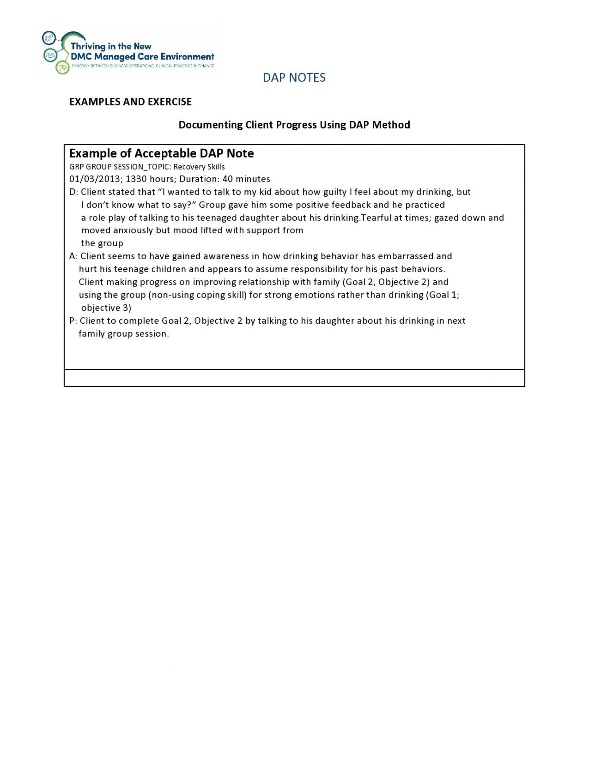 004 Marvelou Therapy Progres Note Template Pdf Photo  Physical1920