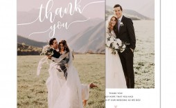 004 Marvelou Wedding Thank You Card Template Psd Highest Quality  Free
