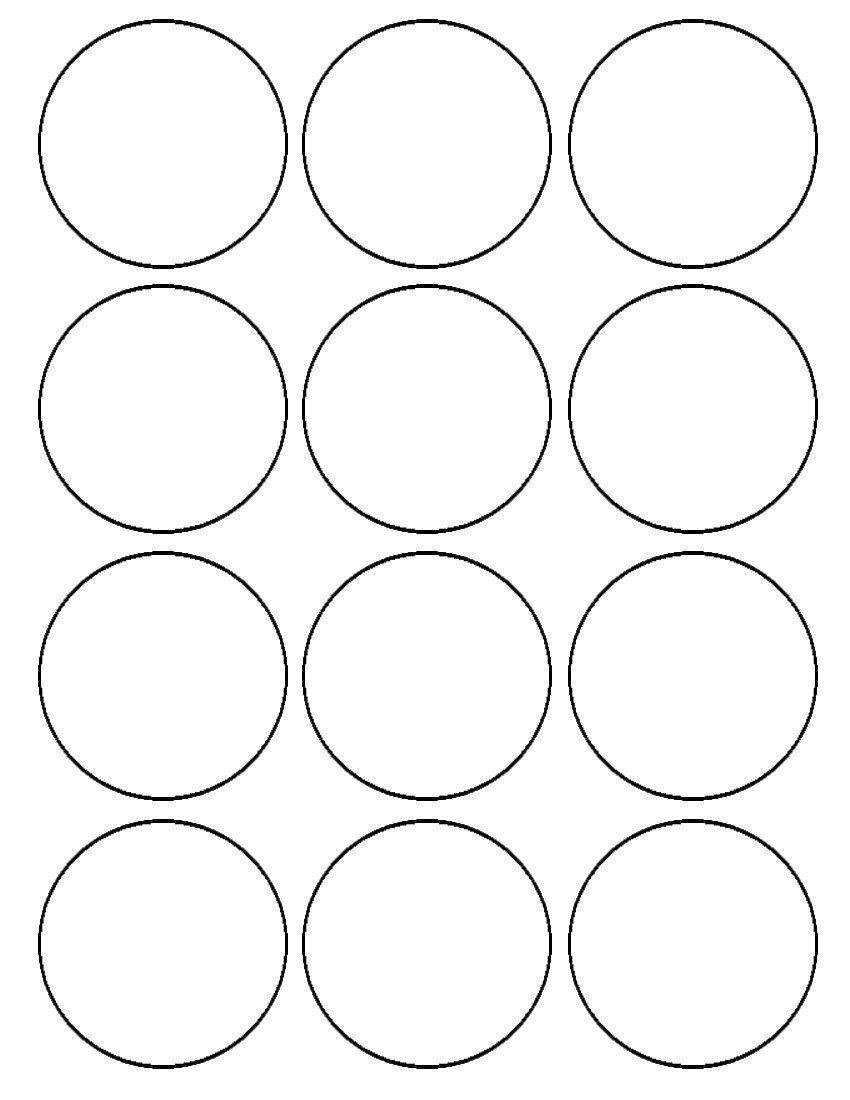 2 5 Inch Circle Template Addictionary