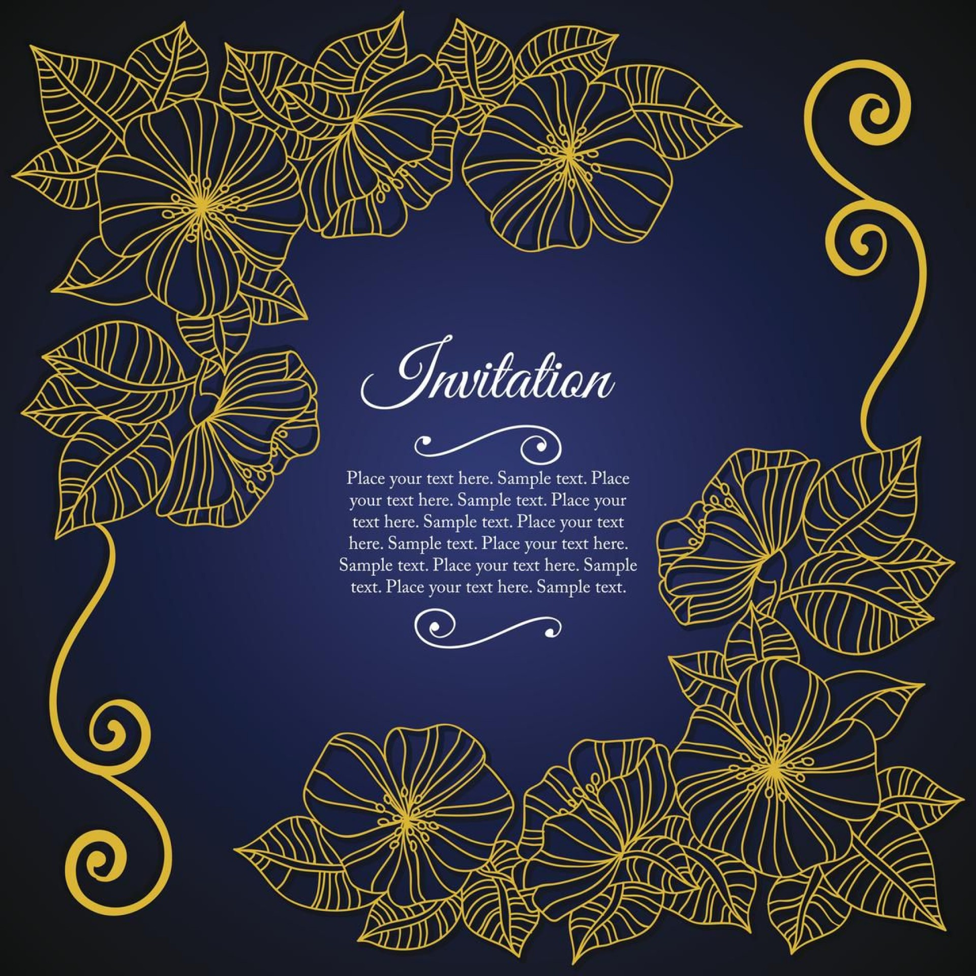 004 Outstanding 50th Wedding Anniversary Invitation Card Sample Highest Quality  Wording1920
