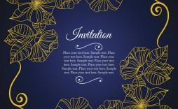 004 Outstanding 50th Wedding Anniversary Invitation Card Sample Highest Quality  Wording
