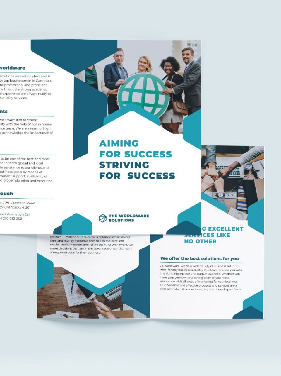 004 Outstanding Adobe Photoshop Brochure Template Free Download High Resolution 960
