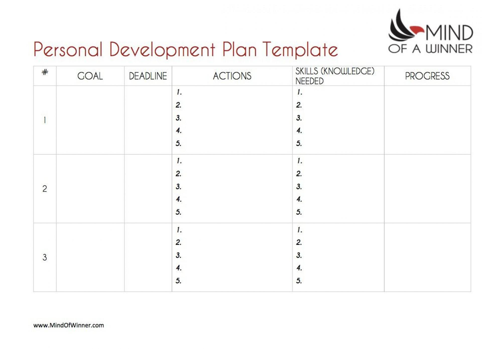 004 Outstanding Employee Development Plan Template High Def  Ppt Free1920