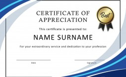 004 Outstanding Free Certificate Template Word Download Concept  Of Appreciation Doc Award Border