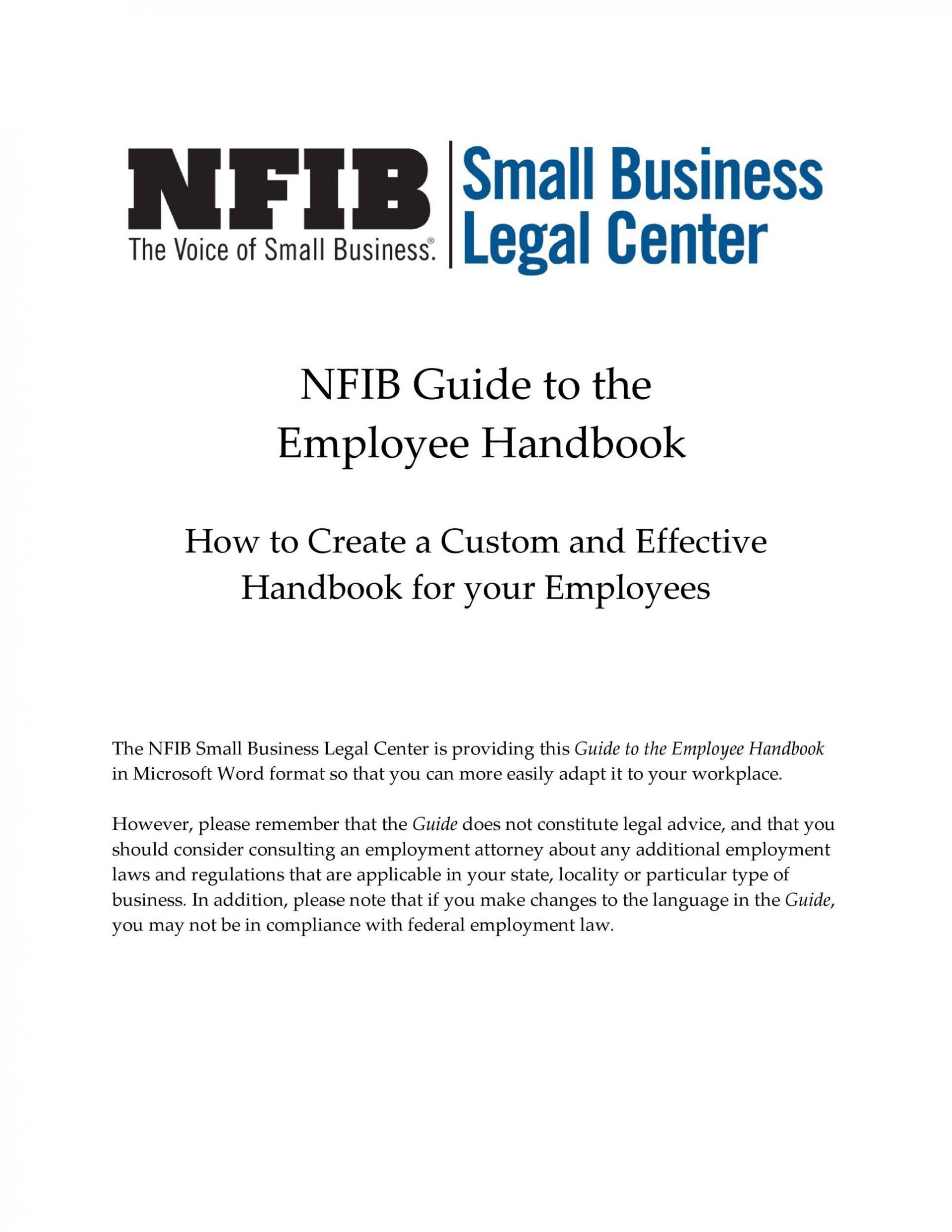 004 Outstanding Free Employee Handbook Template Word High Resolution  Sample In Training Manual1920