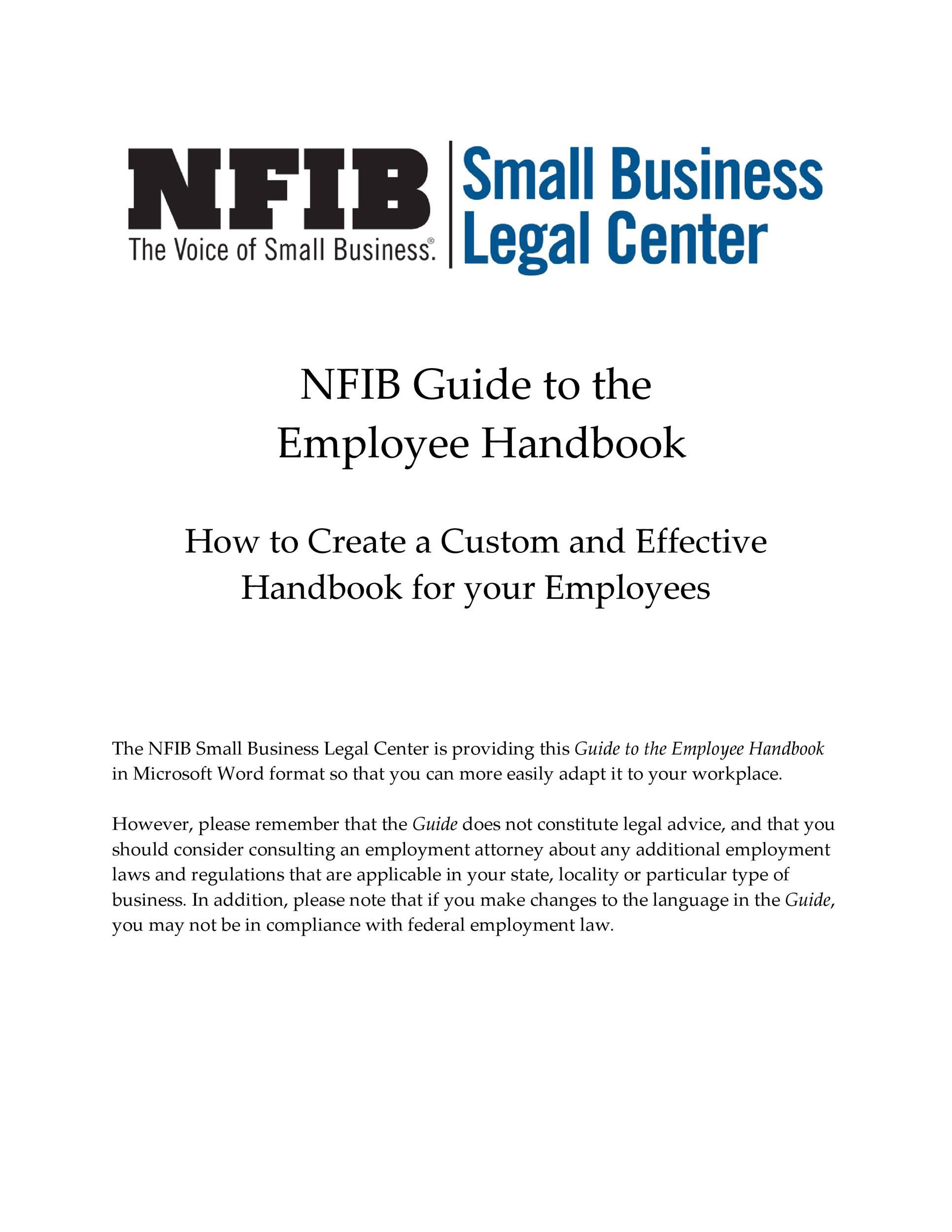 004 Outstanding Free Employee Handbook Template Word High Resolution  Sample In Training ManualFull