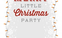 004 Outstanding Free Holiday Invite Template Picture  Templates Party Ticket For Email