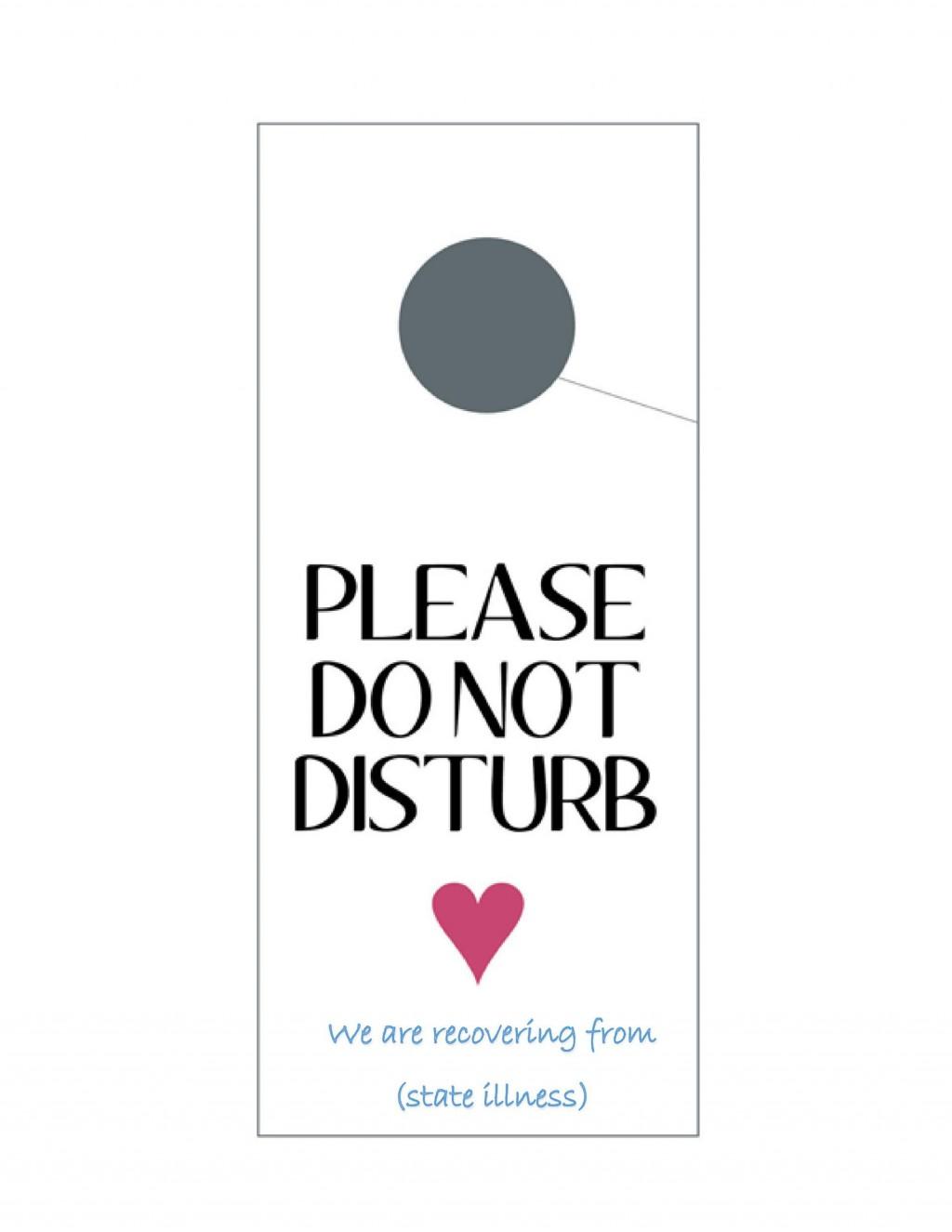 004 Outstanding Free Printable Template For Door Hanger Photo Large
