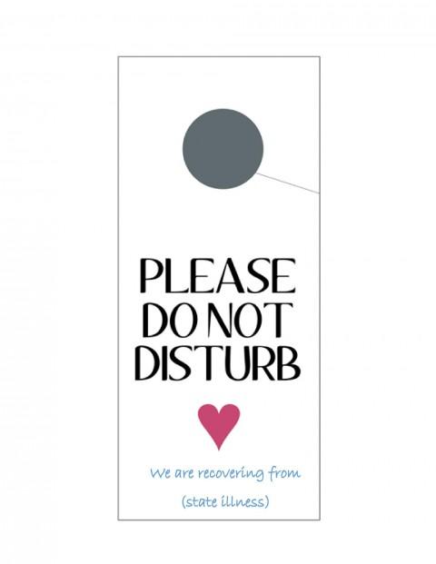 004 Outstanding Free Printable Template For Door Hanger Photo 480