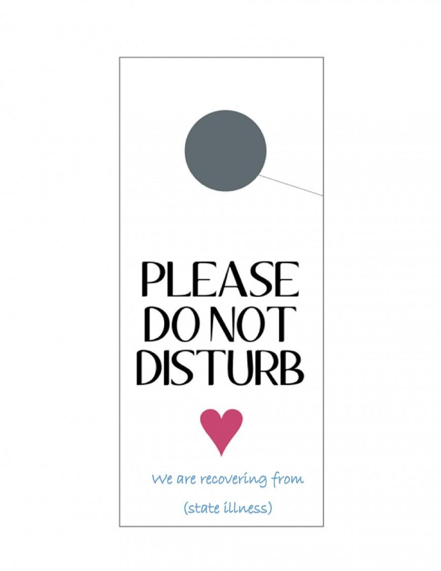 004 Outstanding Free Printable Template For Door Hanger Photo 868