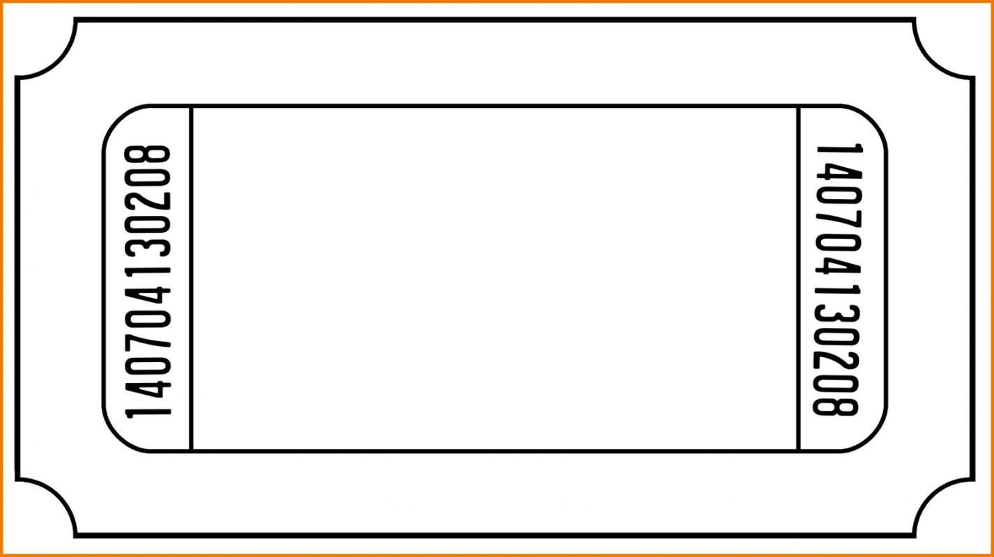 004 Outstanding Free Ticket Template Word Highest Quality  Design Event MicrosoftFull