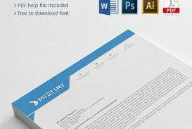 004 Outstanding Letterhead Template Free Download Ai Highest Quality  File