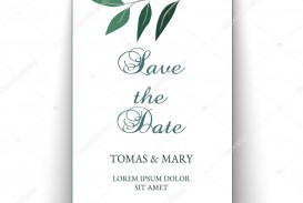 004 Outstanding Printable Wedding Invitation Template Concept  Free For Microsoft Word Vintage