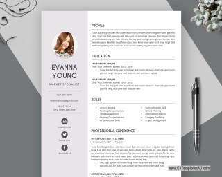 004 Outstanding Student Resume Template Word Free Download Idea  College Microsoft320