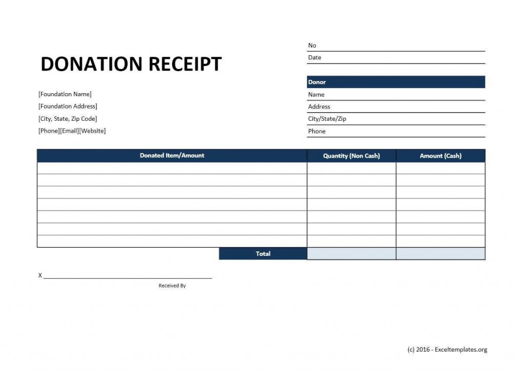 004 Outstanding Tax Donation Receipt Template Example  Canadian Charitable Letter Church DeductionLarge