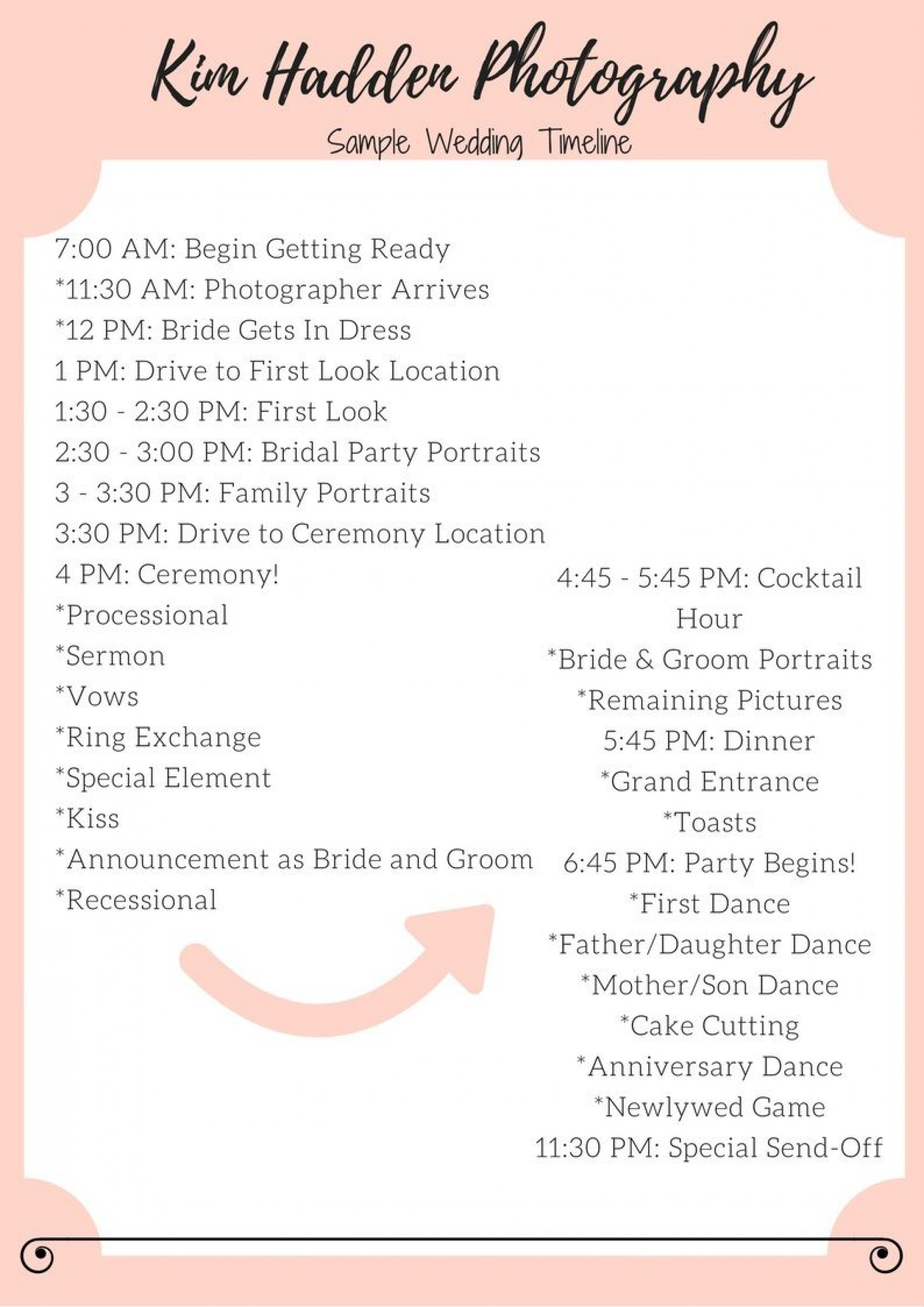 004 Outstanding Wedding Timeline Template Free Download Highest Clarity 1920