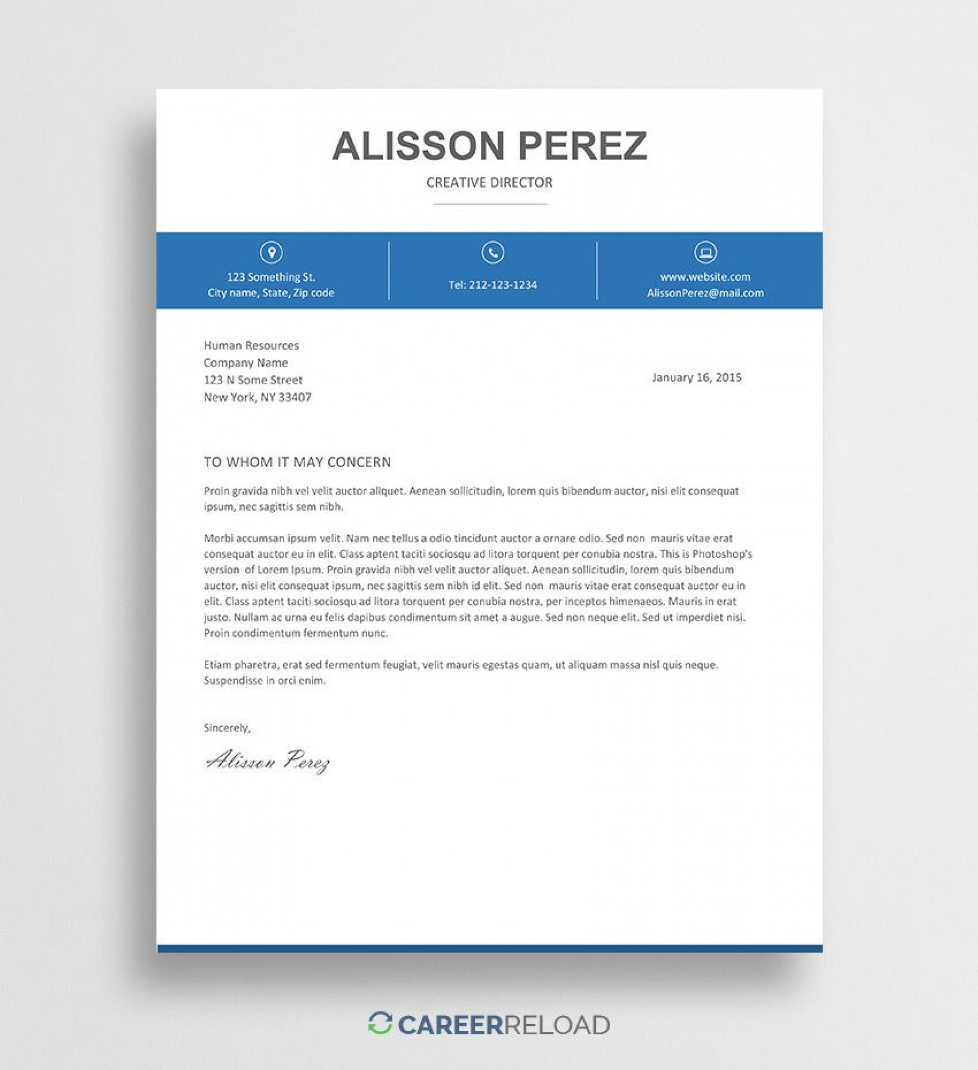 004 Phenomenal Cover Letter Free Template Sample  Download Word Doc1920