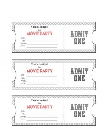 004 Phenomenal Editable Ticket Template Free Image  Concert Word Irctc Format Download Movie320