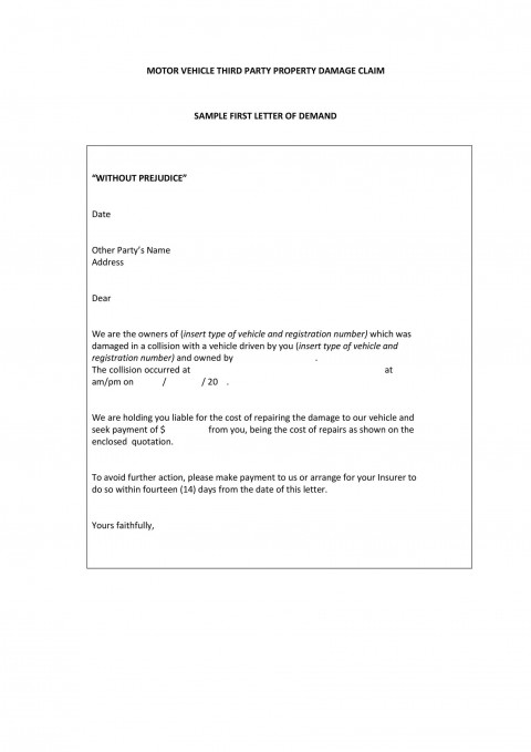 004 Phenomenal Final Payment Demand Letter Template High Resolution  For Uk480