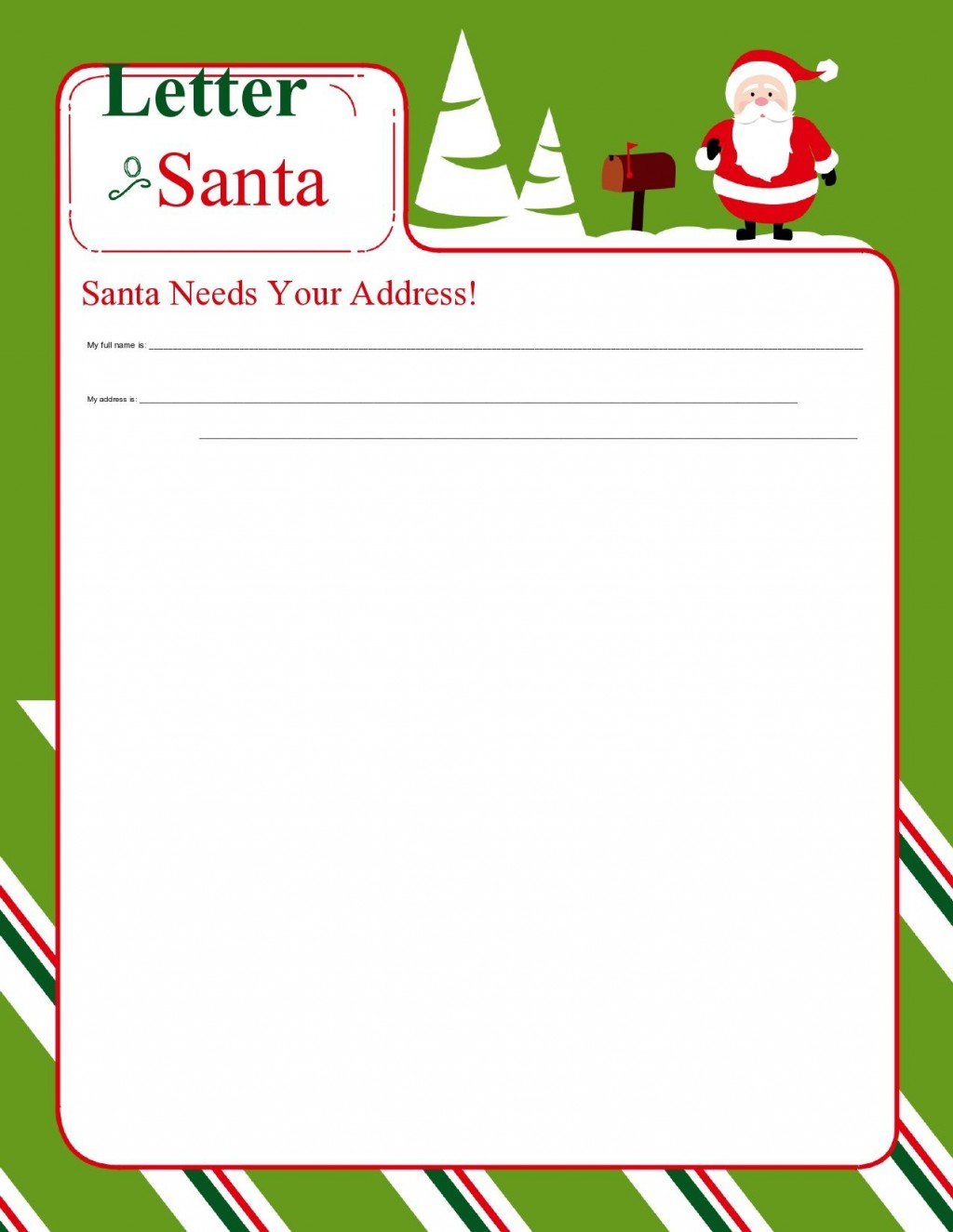 004 Phenomenal Free Christma Letter Template For Microsoft Word Highest Clarity  Downloadable NewsletterLarge