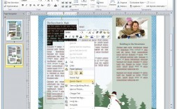 004 Phenomenal Free Newsletter Template For Word 2010 Idea