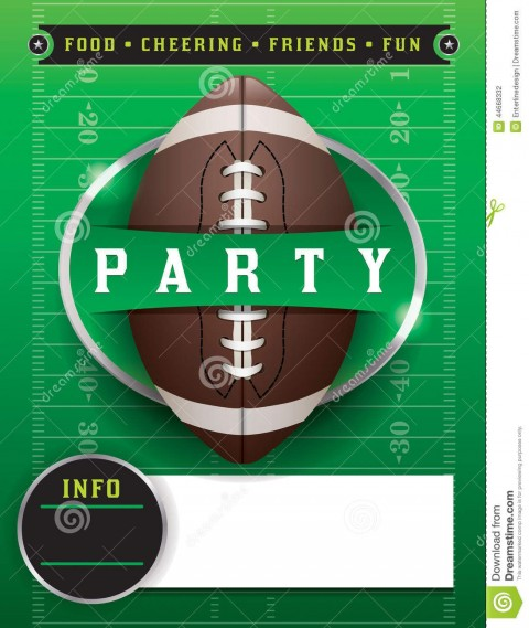 004 Phenomenal Free Tailgate Party Flyer Template Download Highest Quality 480