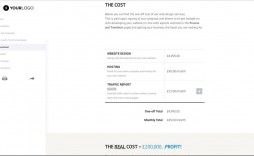 004 Phenomenal Freelance Web Developer Proposal Template Highest Quality