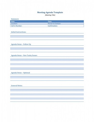004 Phenomenal Meeting Agenda Template Word Idea  Microsoft Board 2010 Example360