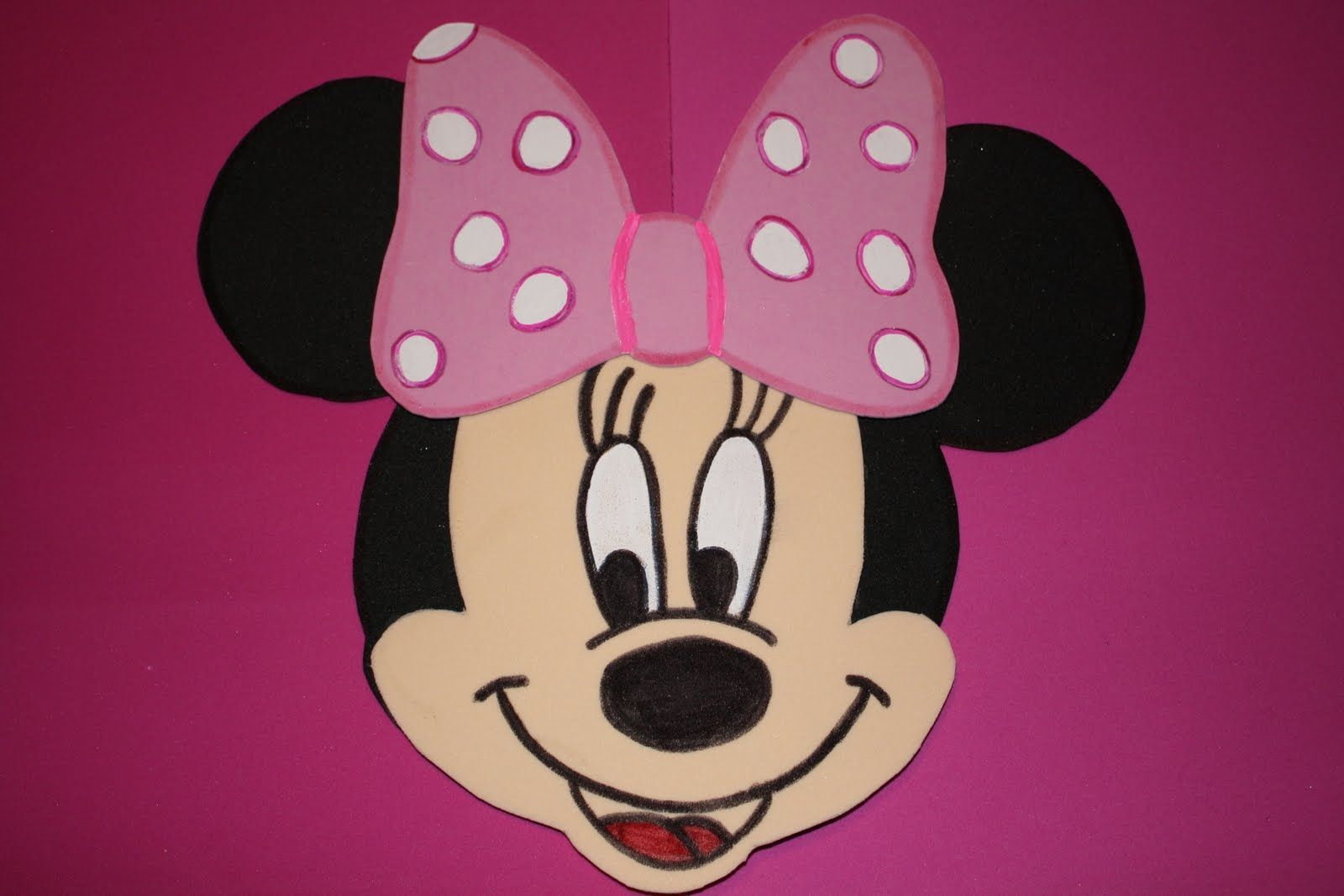 004 Phenomenal Mickey Mouse Face Cake Template Printable Design Full