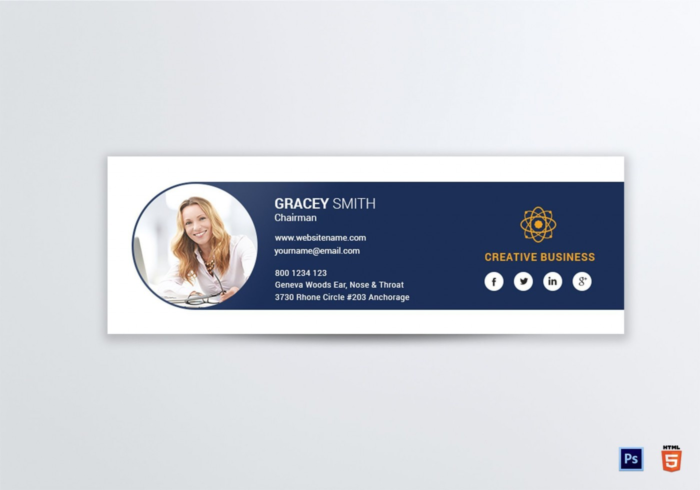 004 Phenomenal Professional Email Signature Template Highest Quality  Free Html Download1400