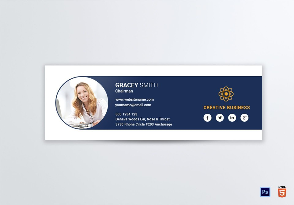 004 Phenomenal Professional Email Signature Template Highest Quality  Download960