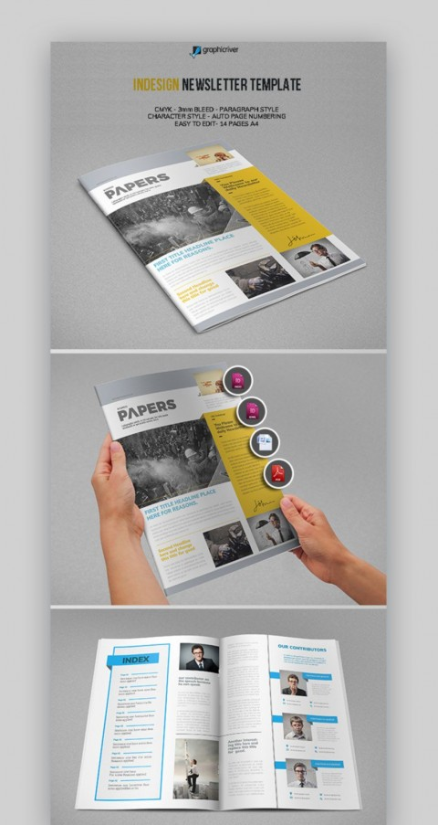 004 Phenomenal Publisher Newsletter Template Free Image  Microsoft Office Download480