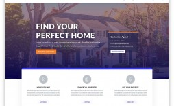 004 Phenomenal Real Estate Agent Website Template Picture  Templates Agency Responsive Free Download Company Web