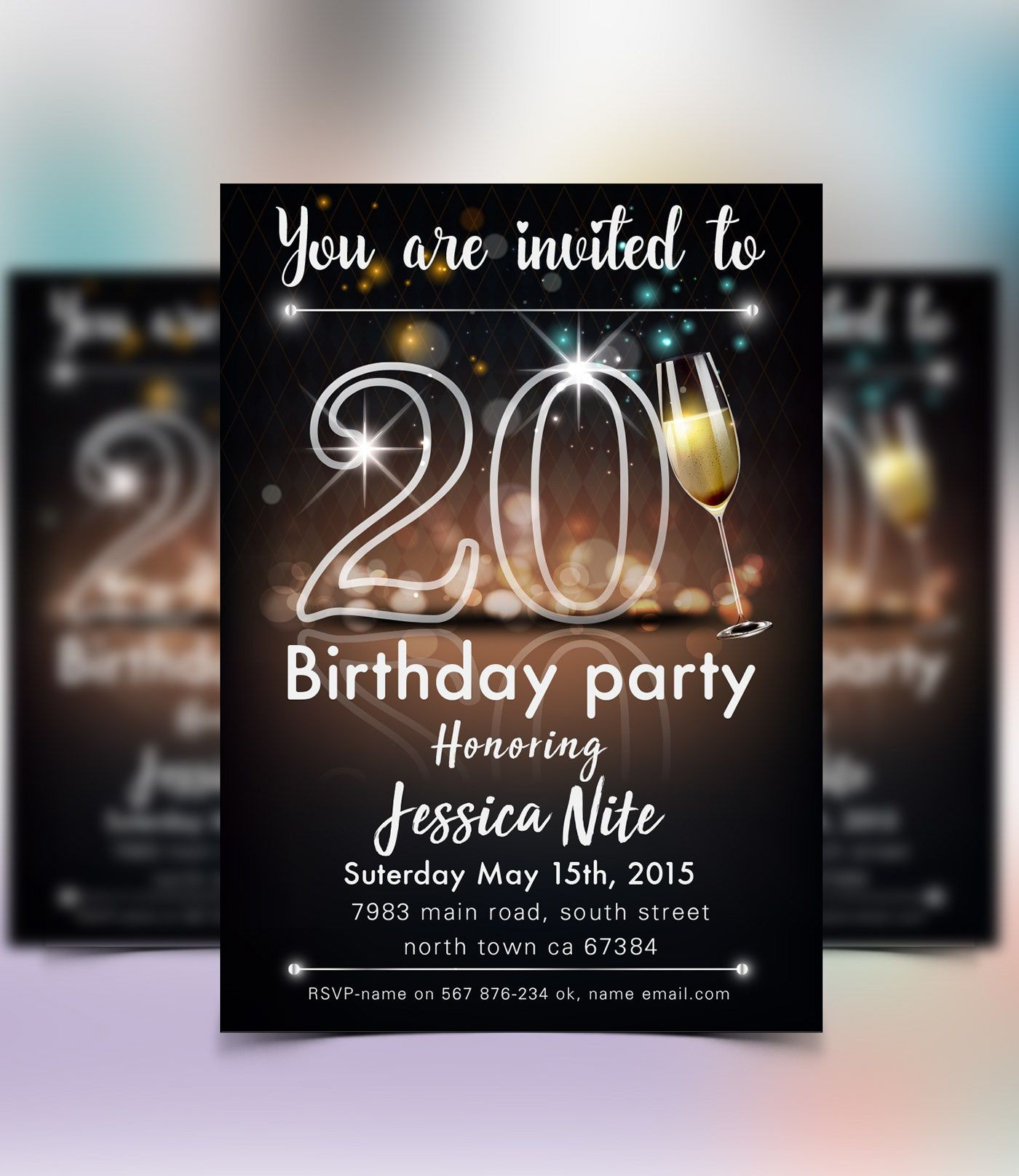 004 Phenomenal Save The Date Flyer Template Sample  Word Event1400