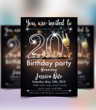 004 Phenomenal Save The Date Flyer Template Sample  Word Event320